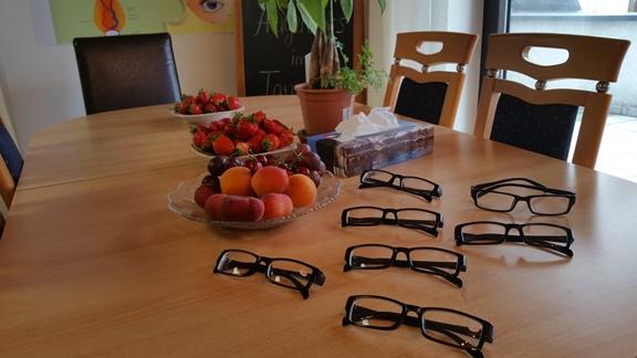 """Augenübungen, Seminaren, Essen, Gymnastik, Individuelle Betreuung beim Augenschule """"Augentraining im Taunus"""""""